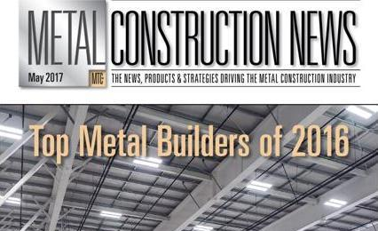 Precision Named One Of The Top Metal Builders In 2016