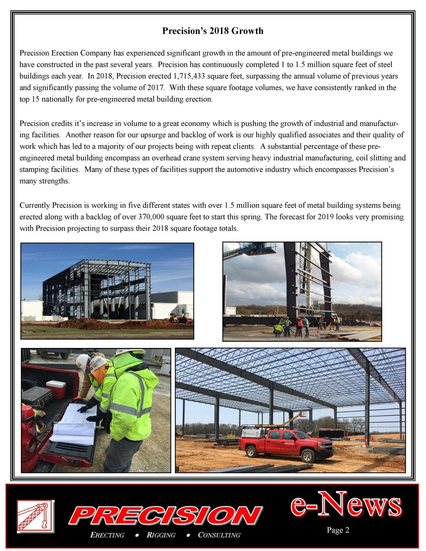 PEC Spring 2019 E News Page 1