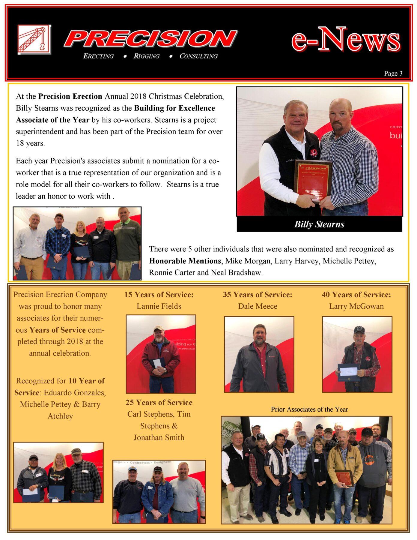 PEC Spring 2019 E News Page 3