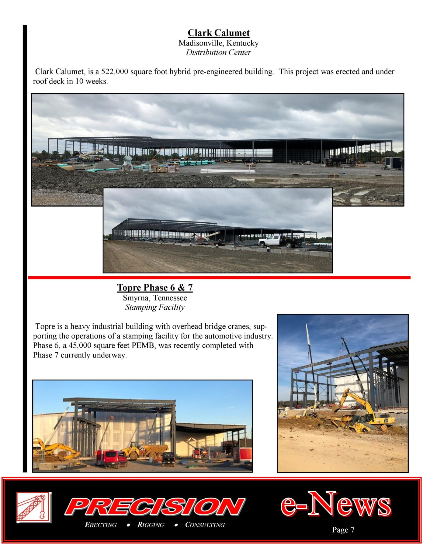 PEC Spring 2019 E News Page 7